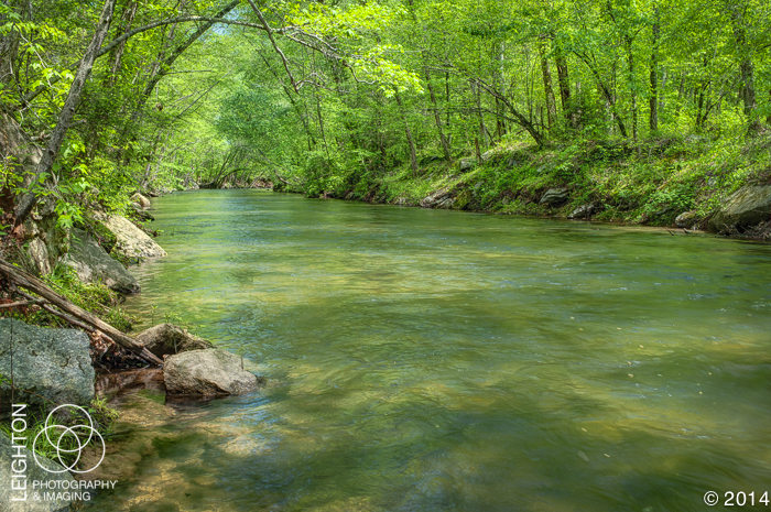 Middle Saluda River, South Carolina