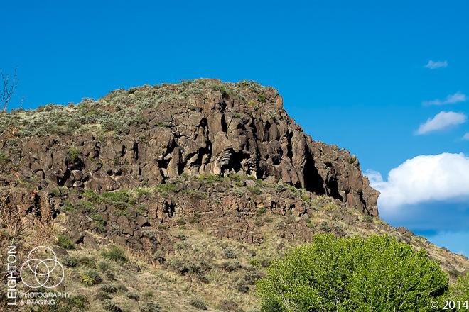 Rocky Basalt Bluffs of Cowiche Canyon