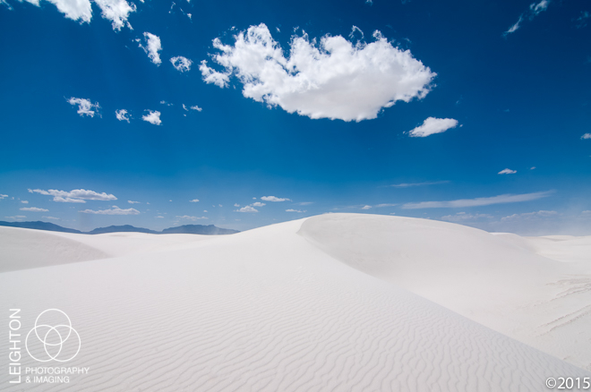White Sands Desert and Dunes, New Mexico