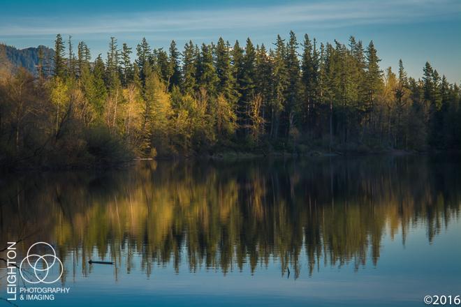 Deep Lake, Late Afternoon