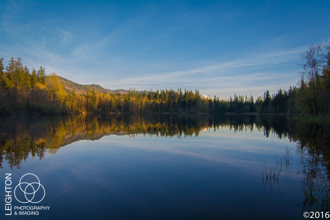 Deep Lake, Late Afternoon
